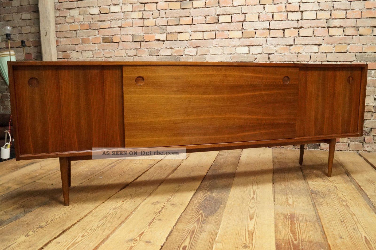 Danish Design Credenza : Er nussbaum sideboard anrichte kommode credenza cabinet danish