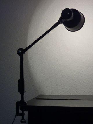 Sis Schreibtischlampe Tischleuchte Vintage Lampe Leuchte Werkstattlampe Bild