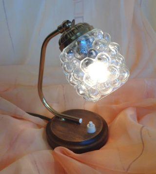 Nachtischlampe Tischlampe Lampe Stehlampe Leuchte Messing Bild