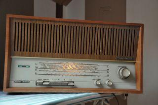 60er Jahre Radio / Nordmende Rigoletto / Holzradio /lw - Ukw / Ii / Funktioniert Bild