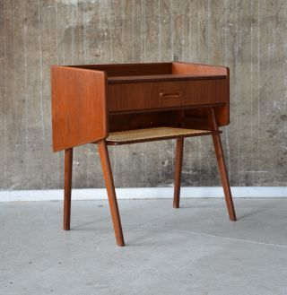 60er Teak Kommode Danish Design 60s Teakwood Cabinet Chest Of Drawers Wegner ära Bild