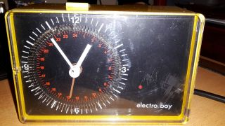 Electro Boy Zeitschaltuhr 70er Jahre Designklassiker Bild