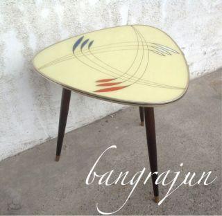 Mid Century Tisch Tolles Design Nierentisch Ära Bild