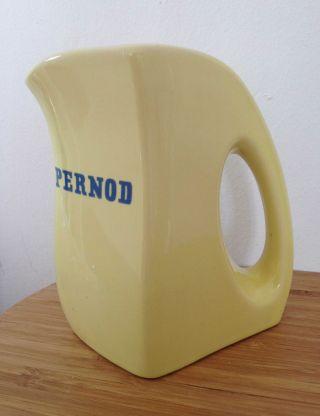 Pernod Vintage Kanne Karaffe Gelb Artdeco Bild