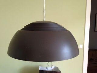 Arne Jacobsen Vintage Pendelleuchte Louis Poulsen 500 50cm Designklassiker Bild