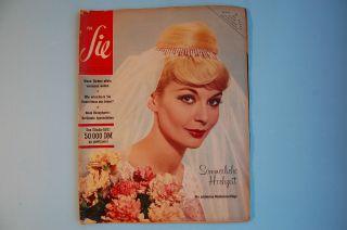 3 Hefte 1960 - 61 - 62 Für Sie Zeitschrift Zum Alltagsdesign 60er - Jahre Mode Wohnen Bild