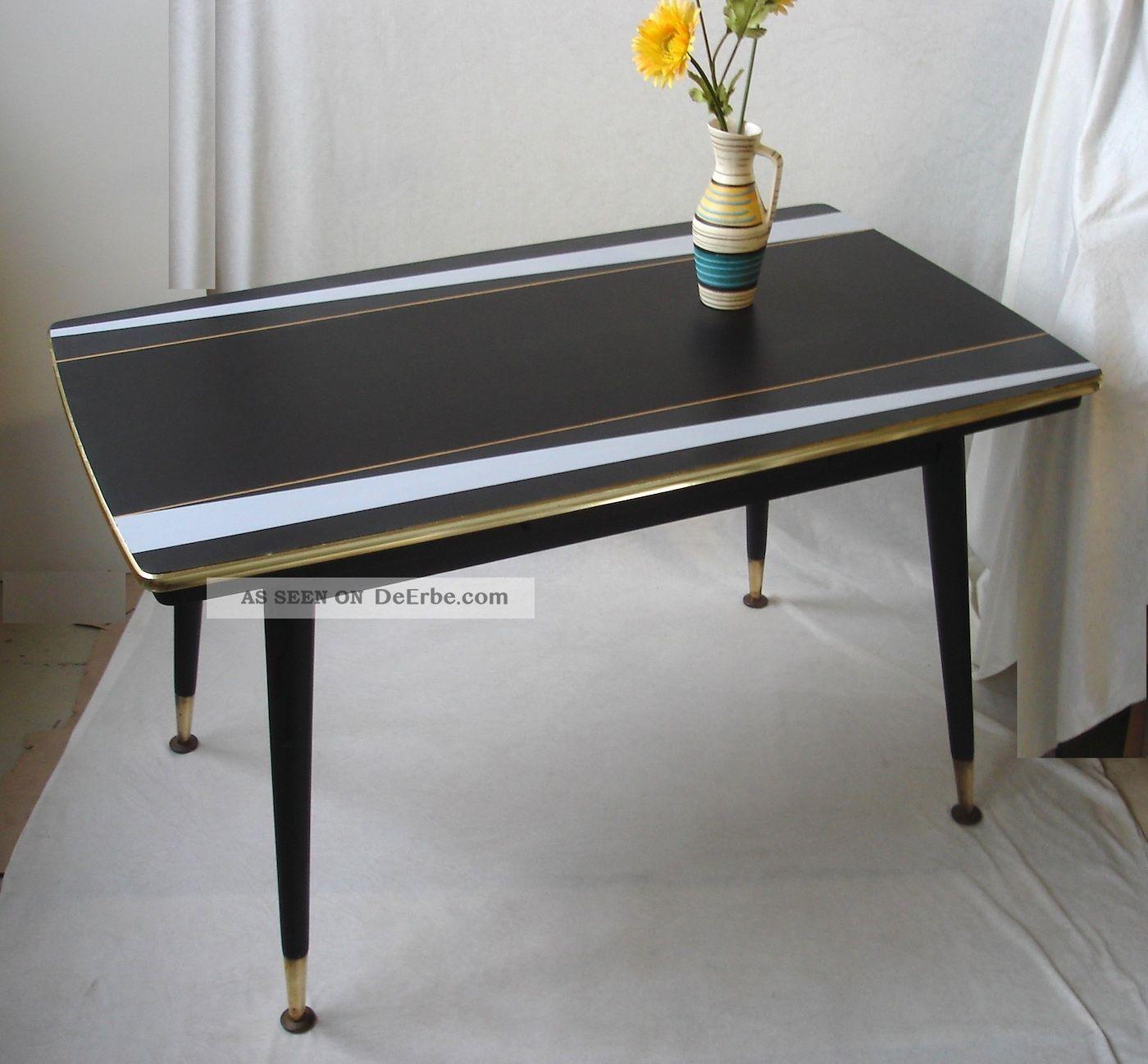 eleganter esstisch ausziehbar couchtisch 50er 60er rockabilly nierentisch ra. Black Bedroom Furniture Sets. Home Design Ideas