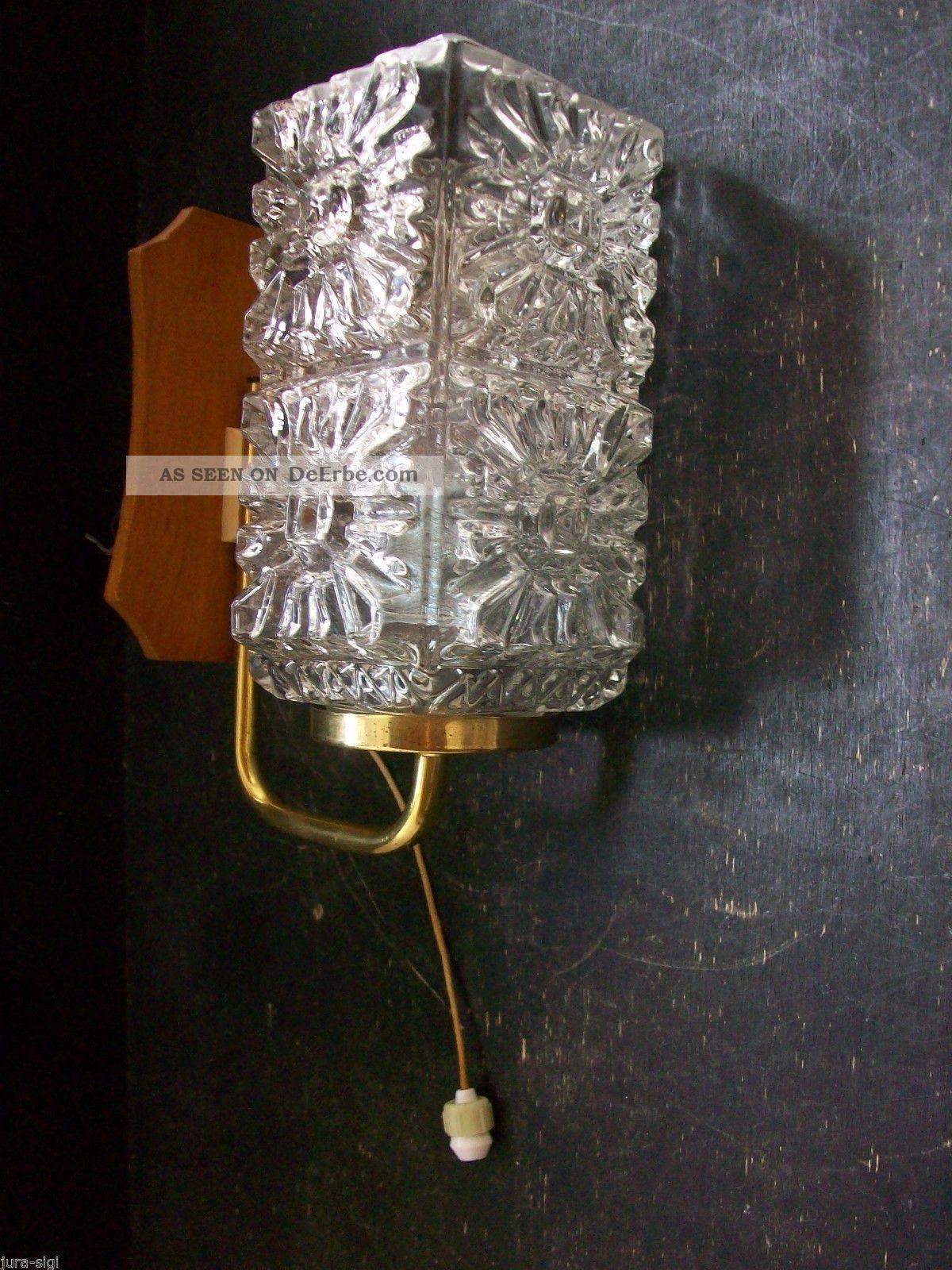 Orig 60er jahre wandleuchte mit zugschalter wandlampe - Wandlampe mit zugschalter ...