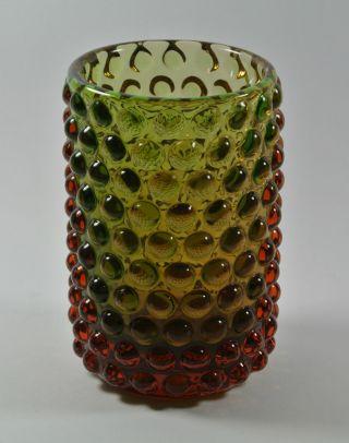 60s Wmf Vase Noppenvase Design: Erich Jachmann | Vintage Wmf Bubble Glass Vase Bild
