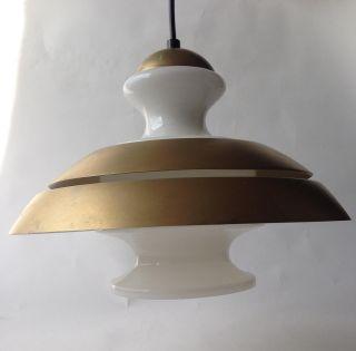 70er Lampe Pendelleuchte Danish Design 70s Pendant Lamp Poulsen ära 60er 60s Bild