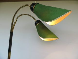 50 - 60er Jahre Große Stehlampe Tütenlampe Rockabilly Nierentisch Midcentury Bild