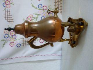 Alte - Samowar - DrÖppelminna Zinn,  Messing,  Kupfer Bild