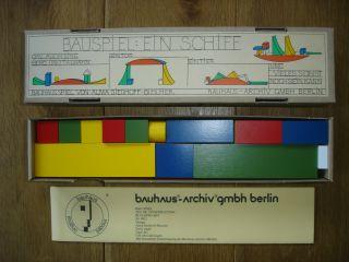 Naef Bauspiel Ein Schiff Bauhaus Design: Alma Siedhoff - Buscher,  Wie Bild
