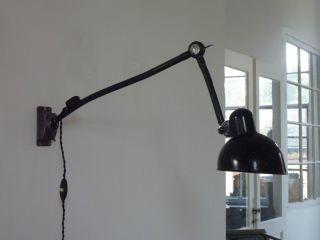 Kaiser Idell Wandlampe Vintage Industrie Design Werkstattlampe Lampe Bild
