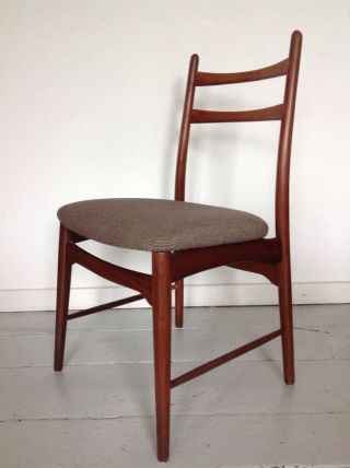Møller Danish Modern Teak Stuhl Desk Chair Bild
