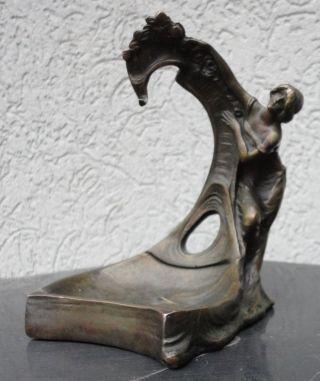 Taschenuhrenständer Bronze Taschenuhren Uhren Uhrenständer Art Nouveau Bild