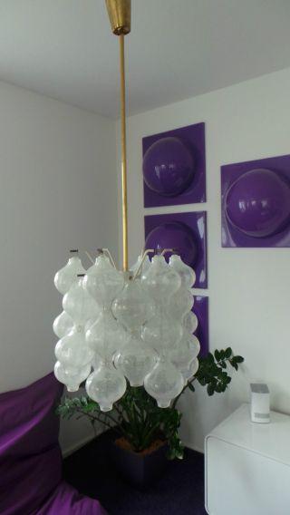 Kalmar Tulipan Lampe Mid Century Panton Lamp Space Age Eames Designer Ära Bild