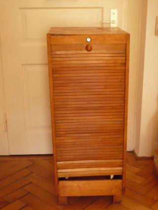 Rollladenschrank Holz Für Bastler Bild