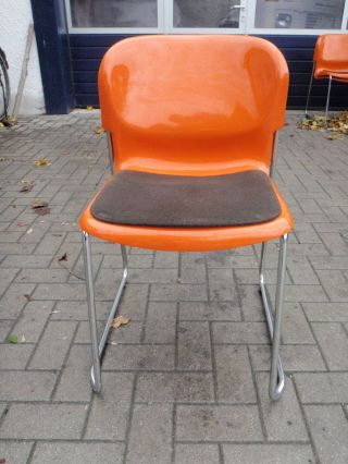 Design stil 1970 1979 mobiliar interieur for Design stuhl orange