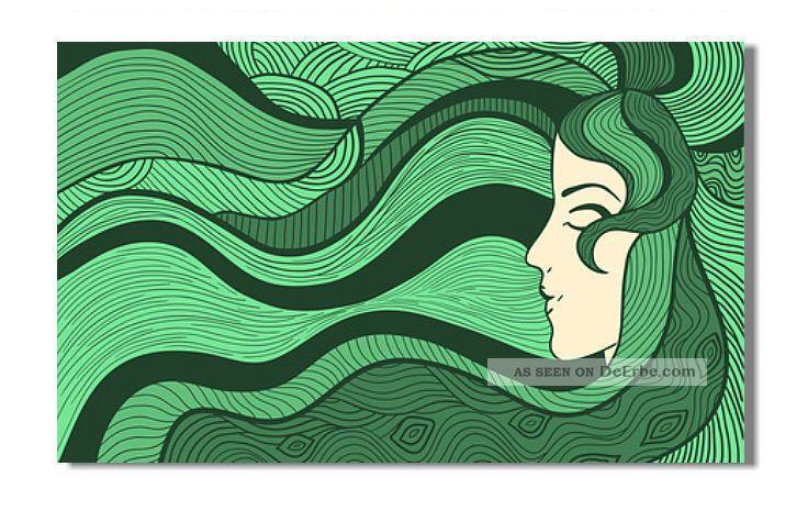 Kunst Bild Pop Art Bauhaus Leinwand Bilder GemÄlde Klimt Jugendstil Deko 4129d 1890-1919, Jugendstil Bild