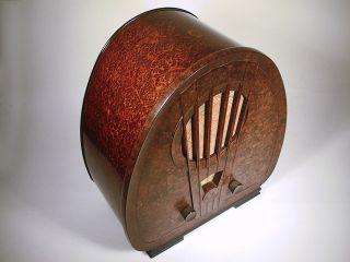 Röhrenradio Philips 834a,  Mw Und Lw Von 1933 Bild
