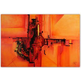 Moderne Kunst Malerei Abstrakt Xxl Bild Öl Leinwand Von Bozena Ossowski Bild