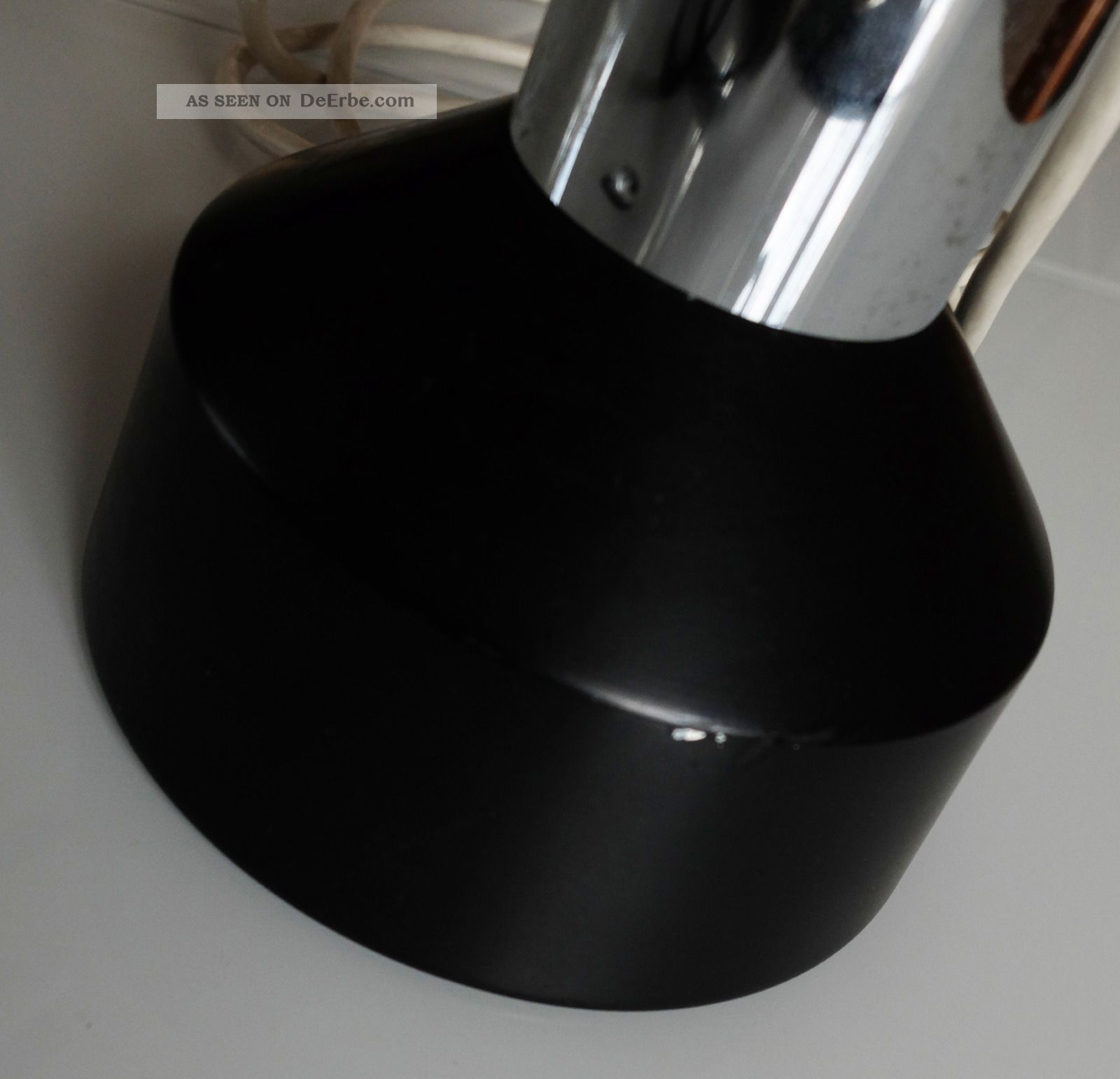 designer 60er 70er jahre staff leuchte h ngelampe p106 chrom metall space age. Black Bedroom Furniture Sets. Home Design Ideas