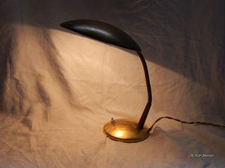 Schreibtischlampe Schwanenhals Lampe Leuchtetischlampe 30er Art Deco Bauhaus Bild