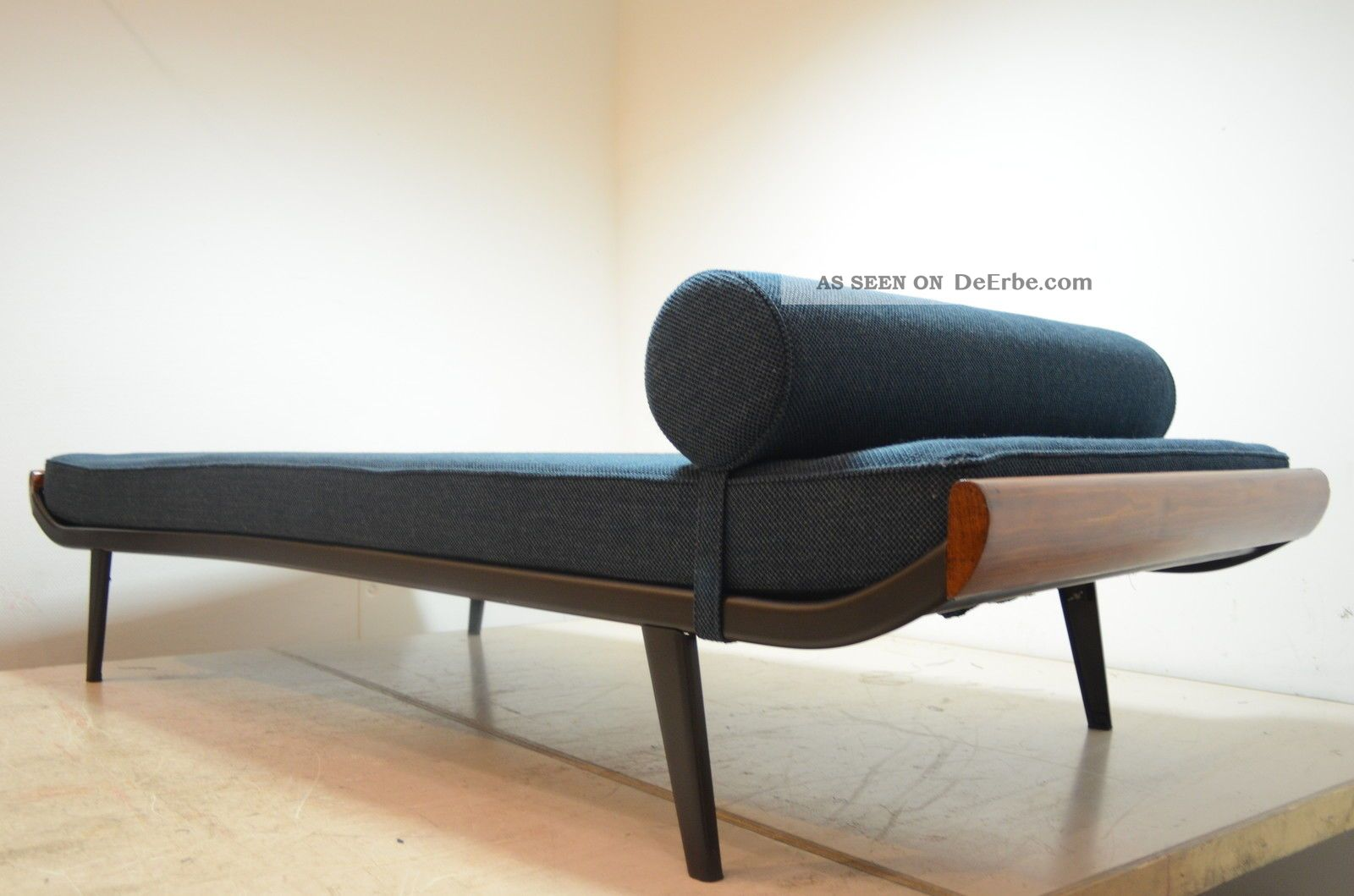 sofa daybed 50er 60er 70er d nish teak eames juhl jalk. Black Bedroom Furniture Sets. Home Design Ideas