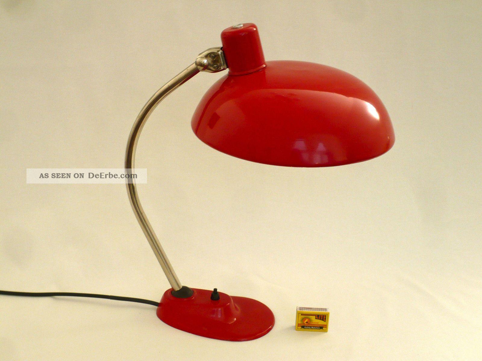 gro e bauhaus schreibtischlampe ca 1950 60 originallack. Black Bedroom Furniture Sets. Home Design Ideas