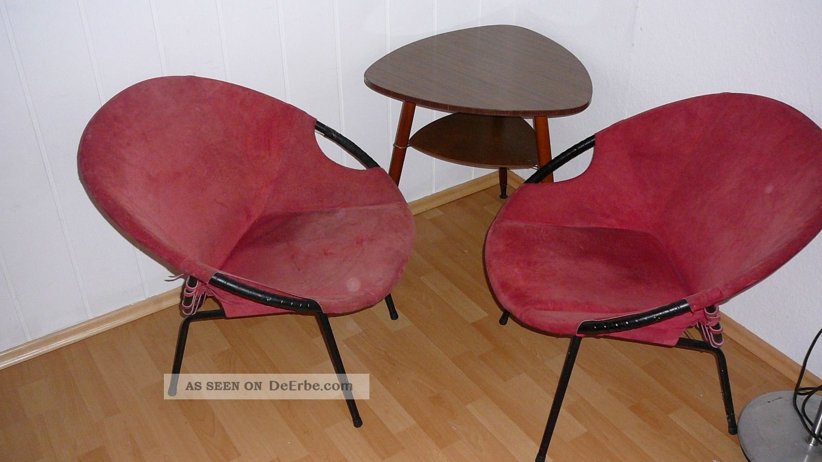 Cocktailsessel 50er leder for Sessel 50iger jahre