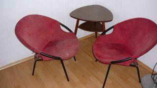 Easy Chair / Cocktail Sessel 50er - 60er Jahre Anschauen Lohnt,  Top Bild