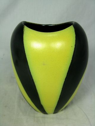 Well Shaped / Formschöne 50´s Design Fritz Van Daalen Pottery Keramik Vase 9 / 4 Bild