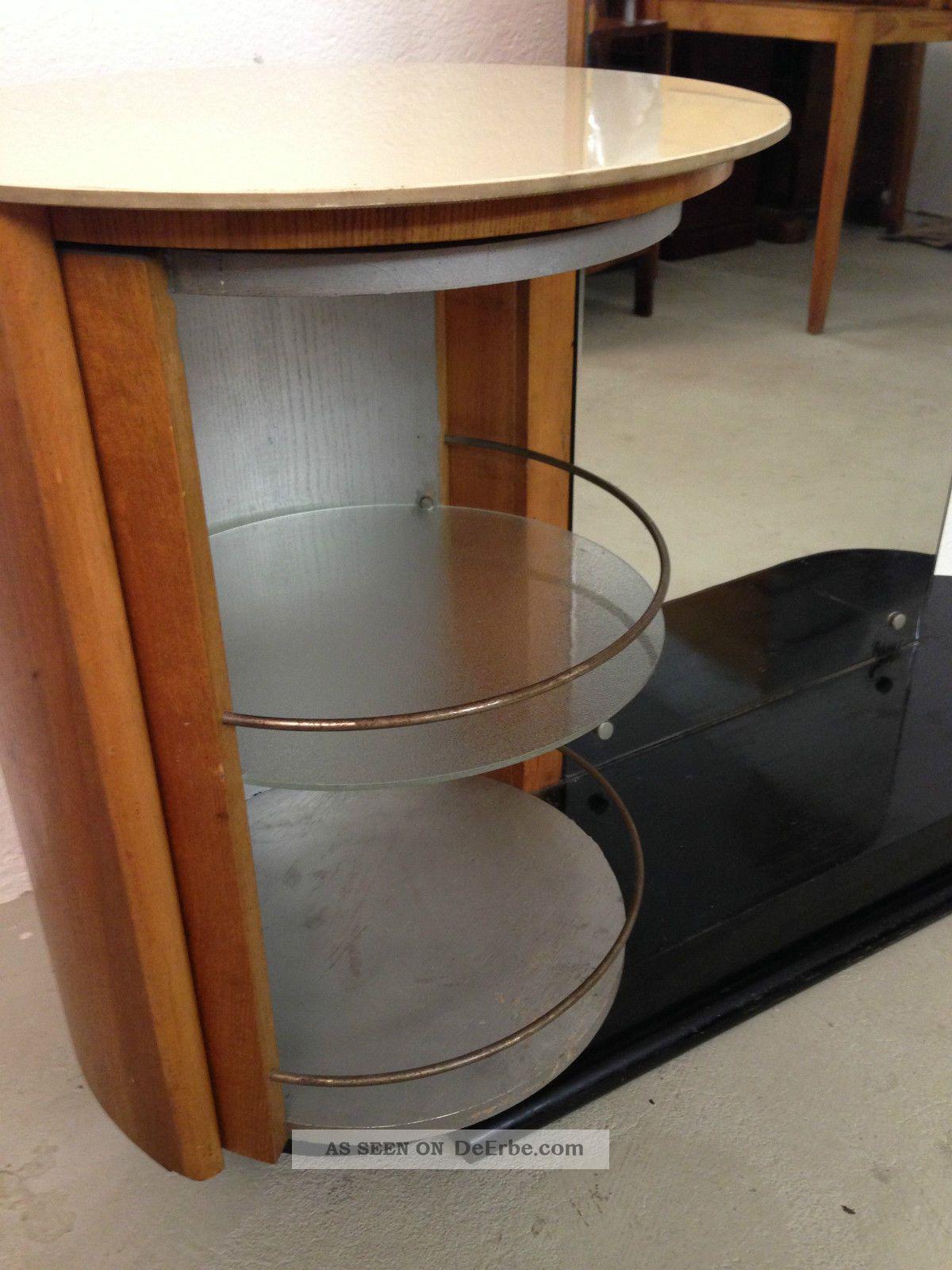 bauhaus art deco spiegelkommode vanity table jindrich halabala czech