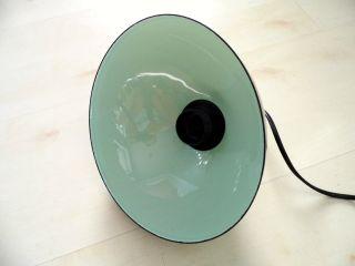 Emaillampe Emaille Designerlampe Unikat Deckenlampe Lampe Leuchte Bild