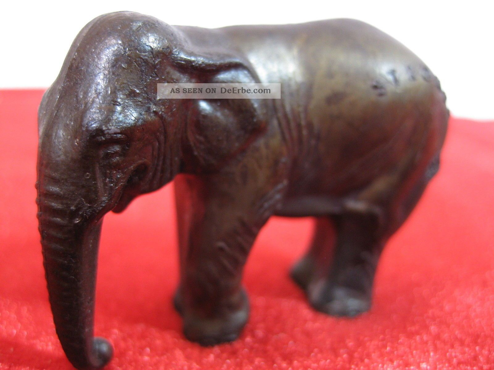 elefant figur stromba zinnguss alt 120g broncepatina t r. Black Bedroom Furniture Sets. Home Design Ideas