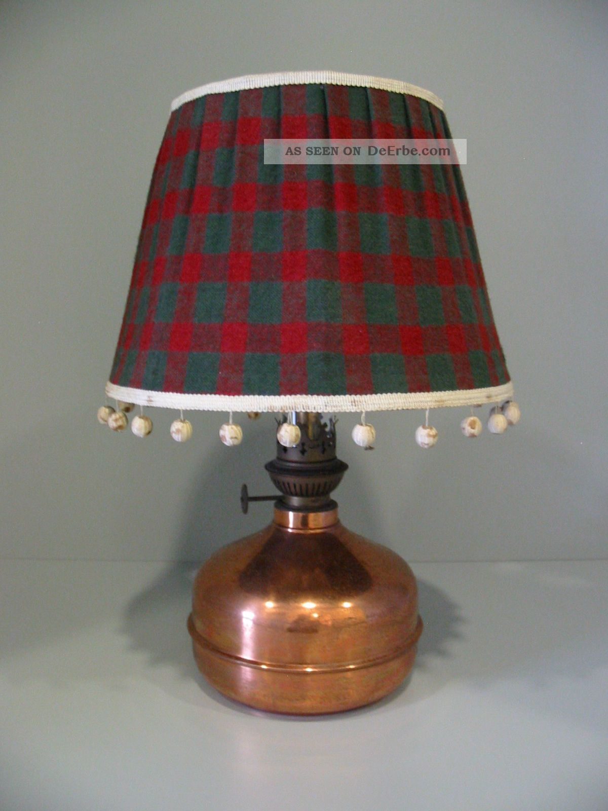 tischlampe petroleumlampe aus den 60 70er jahren. Black Bedroom Furniture Sets. Home Design Ideas