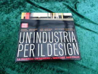 Italienisches Design Buch Un Industria Per Il Design Deutsches Begleitheft Bild