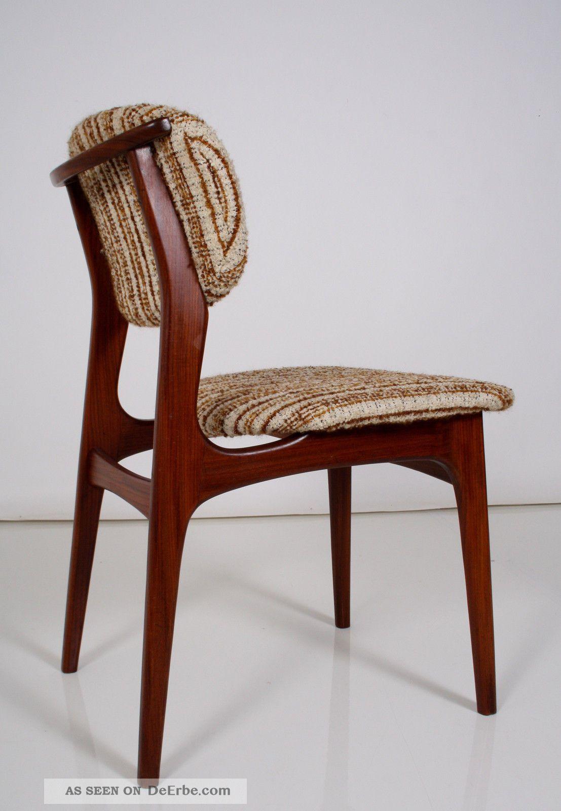 60er stuhl teak vintage chair 60s skandinavisches design for Stuhl skandinavisches design