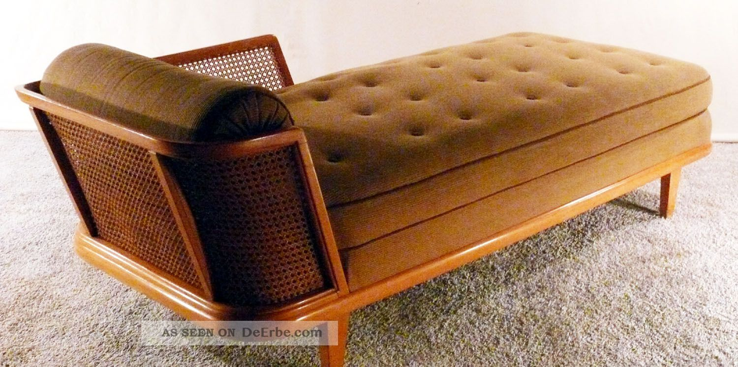 30er recamiere art deco daybed chaiselonge canape sofa 40er 50er bett schlafsofa. Black Bedroom Furniture Sets. Home Design Ideas