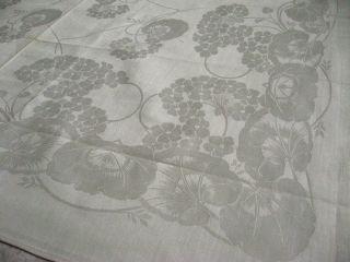 Unbenutztes Jugendstil Tafeltuch Floral Bild