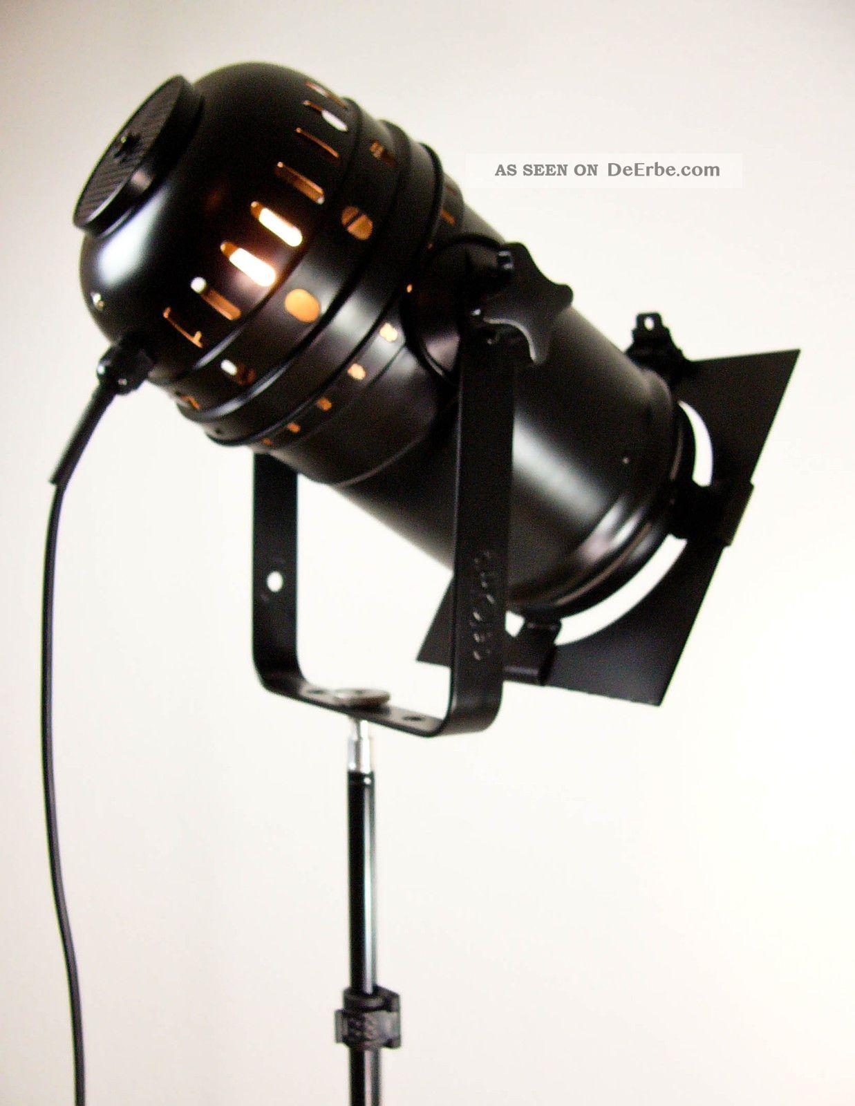 tripod dreibein stehlampe theater scheinwerfer stativ. Black Bedroom Furniture Sets. Home Design Ideas