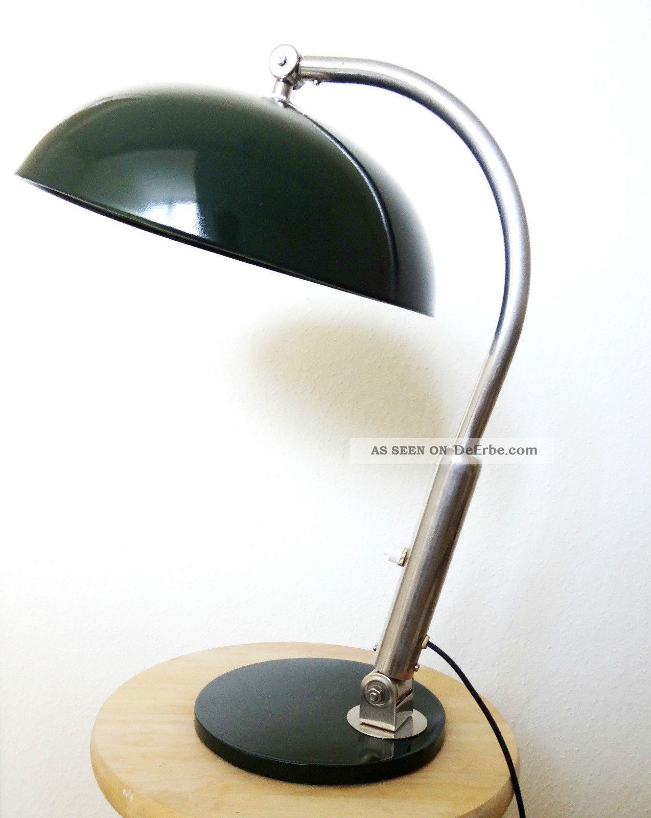bauhaus hala lampe zeist netherlands desk table lamp 1940 39 s art deco. Black Bedroom Furniture Sets. Home Design Ideas