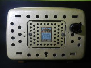 50er Lautsprecher Isophon Isonetta In Gute Gebrauchte Bild