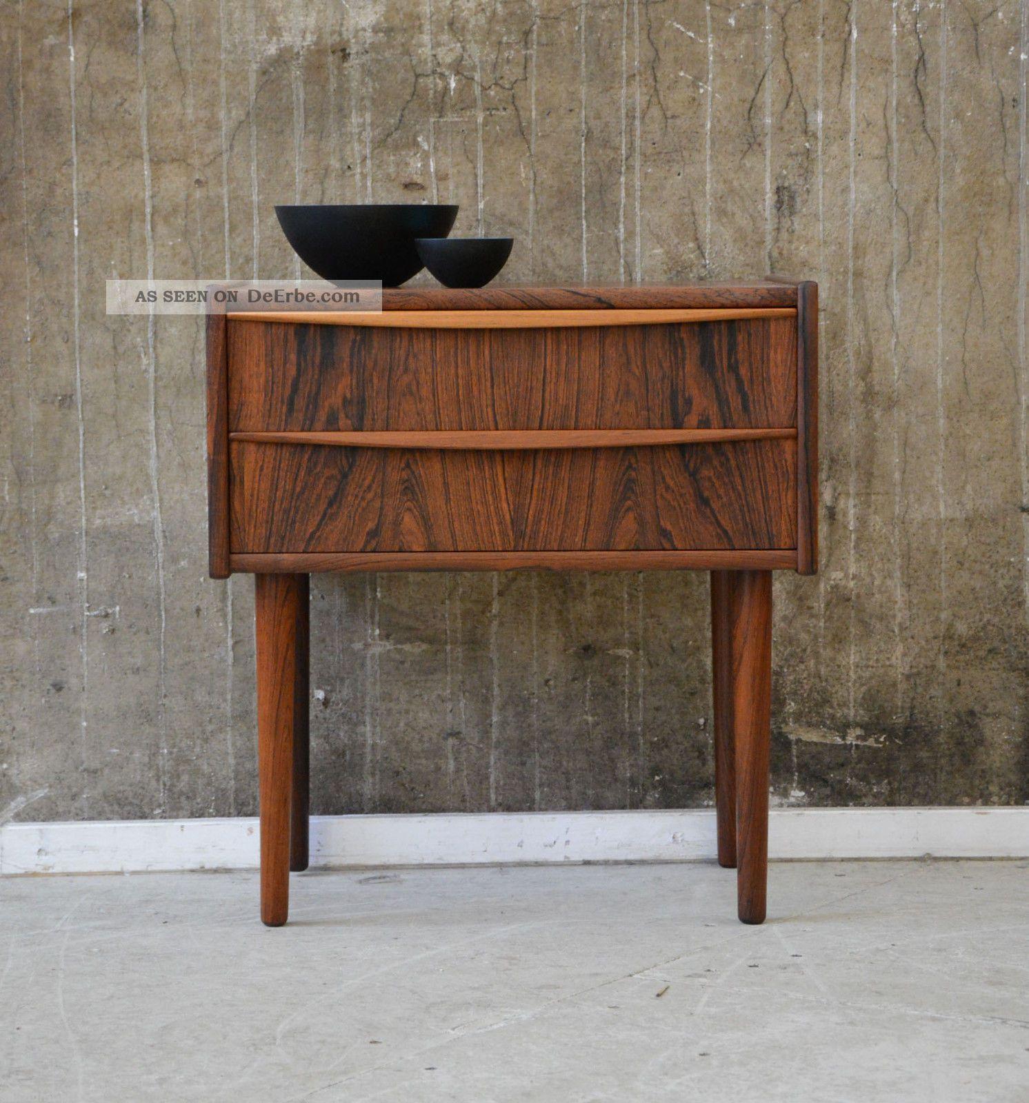 60er palisander kommode danish design 60s rosewood cabinet for Danish design mobel 60er