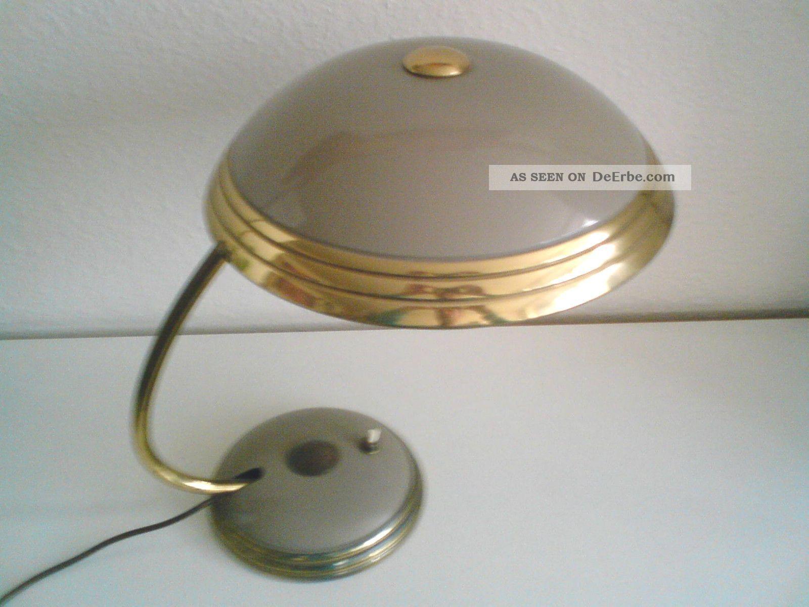 gro e helo designer tischlampe b rolampe schreibtischlampe bauhaus 50er jahre. Black Bedroom Furniture Sets. Home Design Ideas