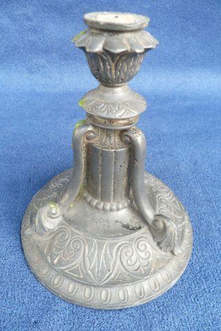 Sehr Dekorativer Kerzenständer Um 1890 Bild