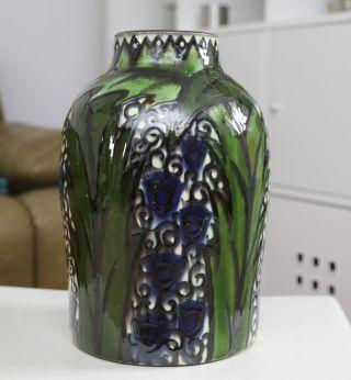 Jugendstil Art Nouveau Deco Keramik Vase Max Laeuger Läuger Kandern Bild