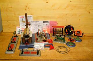 (57) Wilesco Dampfmaschine D 16 Mit Zubehör Und 7 Antriebsmodelle Bild