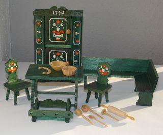 Erzgebirge Holz - Puppenmöbel